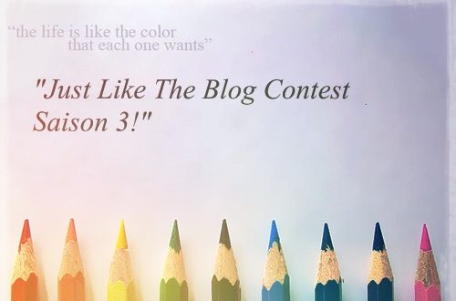 Article : The Blog Contest- Saison 3- Pourquoi Pas?